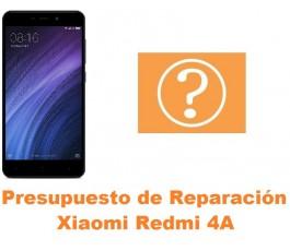 Presupuesto de reparación Xiaomi Redmi 4A