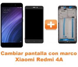 Cambiar pantalla completa con marco Xiaomi Redmi 4A