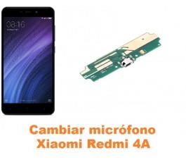Cambiar micrófono Xiaomi Redmi 4A