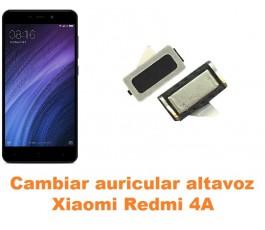 Cambiar auricular altavoz Xiaomi Redmi 4A