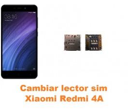 Cambiar lector sim Xiaomi Redmi 4A