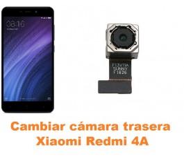 Cambiar cámara trasera Xiaomi Redmi 4A