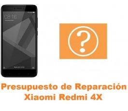 Presupuesto de reparación Xiaomi Redmi 4X