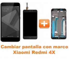 Cambiar pantalla completa con marco Xiaomi Redmi 4X