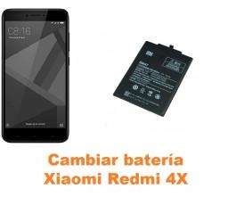 Cambiar batería Xiaomi Redmi 4X