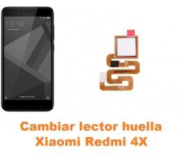 Cambiar lector huella Xiaomi Redmi 4X