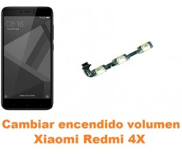 Cambiar encendido y volumen Xiaomi Redmi 4X