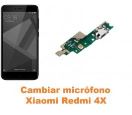 Cambiar micrófono Xiaomi Redmi 4X