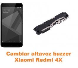 Cambiar altavoz buzzer Xiaomi Redmi 4X