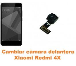 Cambiar cámara delantera Xiaomi Redmi 4X