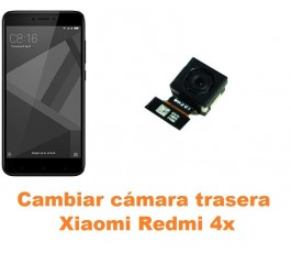 Cambiar cámara trasera Xiaomi Redmi 4X
