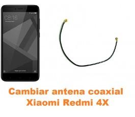 Cambiar antena coaxial Xiaomi Redmi 4X