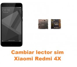 Cambiar lector sim Xiaomi Redmi 4X