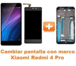 Cambiar pantalla completa con marco Xiaomi Redmi 4 Pro