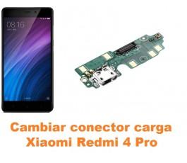 Cambiar conector carga Xiaomi Redmi 4 Pro