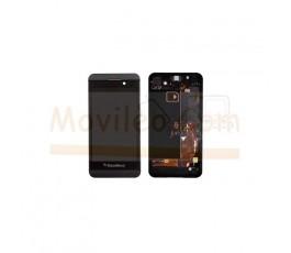 Pantalla Completa con Marco Negro para Blackberry Z10 version 3G - Imagen 1