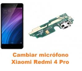 Cambiar micrófono Xiaomi Redmi 4 Pro