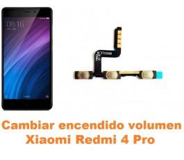 Cambiar encendido y volumen Xiaomi Redmi 4 Pro