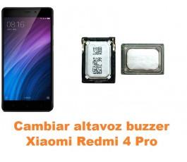 Cambiar altavoz buzzer Xiaomi Redmi 4 Pro