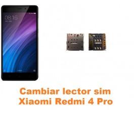 Cambiar lector sim Xiaomi Redmi 4 Pro