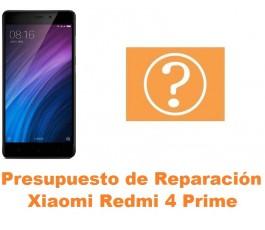 Presupuesto de reparación Xiaomi Redmi 4 Prime