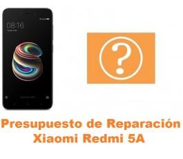 Presupuesto de reparación Xiaomi Redmi 5A