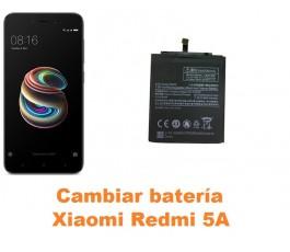 Cambiar batería Xiaomi Redmi 5A