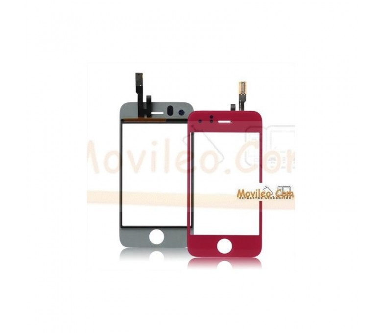 Pantalla táctil color rosa para iPhone 3Gs - Imagen 1