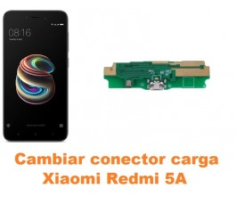Cambiar conector carga Xiaomi Redmi 5A