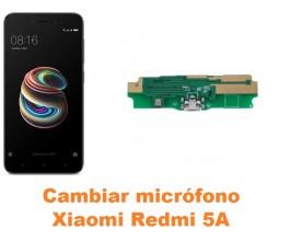 Cambiar micrófono Xiaomi Redmi 5A