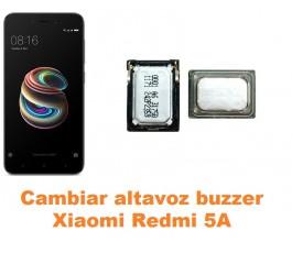 Cambiar altavoz buzzer Xiaomi Redmi 5A