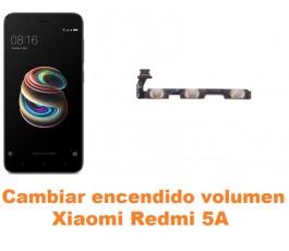 Cambiar encendido y volumen Xiaomi Redmi 5A