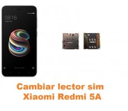 Cambiar lector sim Xiaomi Redmi 5A