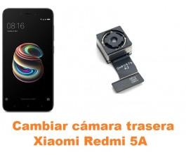 Cambiar cámara trasera Xiaomi Redmi 5A