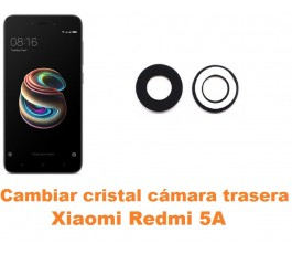 Cambiar cristal cámara trasera Xiaomi Redmi 5A