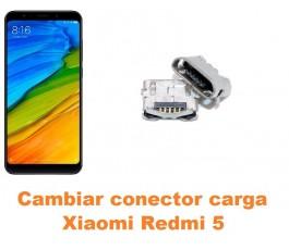 Cambiar conector carga Xiaomi Redmi 5