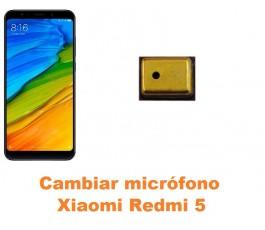 Cambiar micrófono Xiaomi Redmi 5