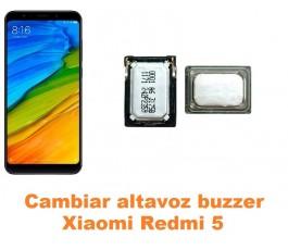 Cambiar altavoz buzzer Xiaomi Redmi 5