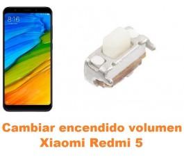 Cambiar encendido y volumen Xiaomi Redmi 5