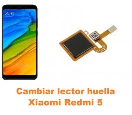 Cambiar lector huella Xiaomi Redmi 5