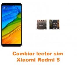 Cambiar lector sim Xiaomi Redmi 5