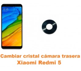 Cambiar cristal cámara trasera Xiaomi Redmi 5