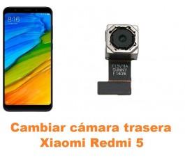 Cambiar cámara trasera Xiaomi Redmi 5