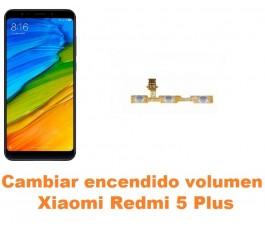 Cambiar encendido y volumen Xiaomi Redmi 5 Plus