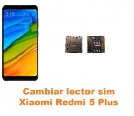 Cambiar lector sim Xiaomi Redmi 5 Plus