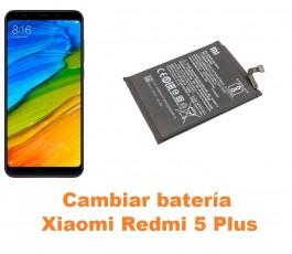 Cambiar batería Xiaomi Redmi 5 Plus
