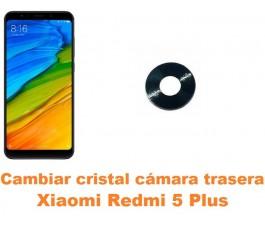Cambiar cristal cámara trasera Xiaomi Redmi 5 Plus