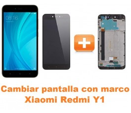 Cambiar pantalla completa con marco Xiaomi Redmi Y1