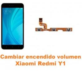 Cambiar encendido y volumen Xiaomi Redmi Y1