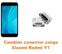 Cambiar conector carga Xiaomi Redmi Y1